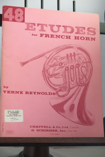 Reynolds V - 48 Etudes for French Horn